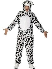 Adult 101 Dalmation Dog Animal Ladies / Mens Fancy Dress Costume Party Outfit