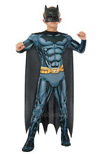 New Childrens Comic Superhero Deluxe Batman Boys Fancy Dress Kids Costume Outfit
