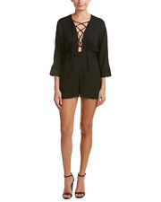 Lucca Couture Lace-Up Romper