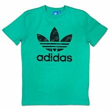 ADIDAS ORIGINALS ADI TREFOIL t-shirt Men's Leisure Iconic Green Camouflage