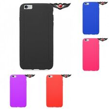 Silicon Case Gel Rubber Soft Flexible Phone Cover Accessory For Apple Phones