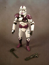 Clone Trooper Grand Army of the Republic Mace Windu Battalion Purple armor