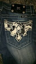 MISS ME JEANS SIZE 27,28,29 signature boot