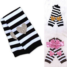 Baby Newborn girl boy Cotton toddler legging arm leg warmers sock holiday pack