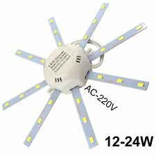 12/16/24W LED celling lamp 5730 SMD White Octopus Round kitchen bedroom Light