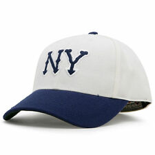 American Needle New York Yankees Tan/Navy Cooperstown Fitted Hat - MLB
