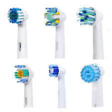 Generic Oral B Compatible Toothbrush Replacement Heads Great for Travel New