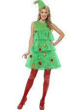SALE Adult Sexy Christmas Tree Tutu Ladies Fancy Dress Xmas Party Costume Outfit