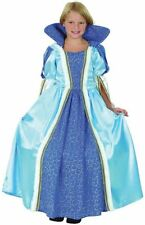 Childs Deluxe Blue Princess Costume