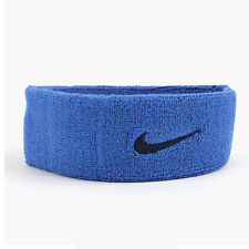 Nike Swoosh Headband AC2285-437 Sweatband Sports Hairband Tennis Basketball Blue