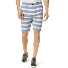 NWT Tommy Hilfiger Mens Custom Fit Shorts Blue Stripe