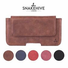 Snakehive® Apple iPhone 6 Plus Vintage Leather Belt Pouch Utility Phone Case