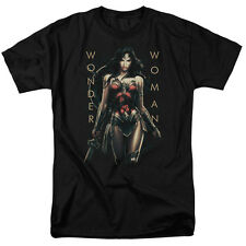 Wonder Woman Movie ARMED AND DANGEROUS Licensed Adult T-Shirt All Sizes