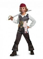 Disney Captain Jack Sparrow Pirates of the Caribbean Boy Classic Child Costume