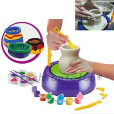 New Craft Discovery Kids Motorized Ceramic Pottery Wheel Educational Toy