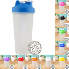 Smart Shake Water Protein Blender Shaker Mixer Cup Bottle Drink Whisk Ball Gym