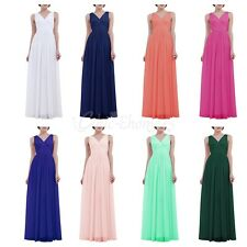 Womens Long Prom Formal Evening Cocktail Party Bridesmaids Gowns Ball Full Dress