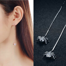 Long Earrings Fashion Gift For Women Spider Shaped 1Pair Earrings Jewelry