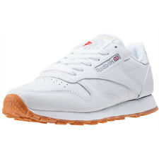 Reebok Classic Leather Womens Trainers White Gum New Shoes