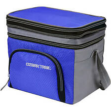 Portable Personal Expandable Lunch Box Drinks Food 6 Can Cooler Picnic Bag Soft