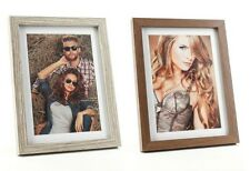 Photo Frame Picture Frame in 4 sizes wooden walnut oak limed Stands