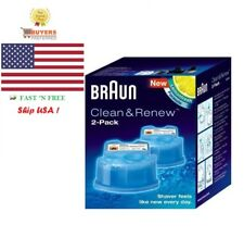 Braun Clean & Renew System Cartridges Refills CCR Series 3,5,7,9 Shaver ALL Pack