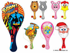 Paddle Bat & Ball Party Bags Fillers Toys