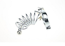 Male Chastity Device Chrome Plated Steel metal bondage fetish CBT slave gay
