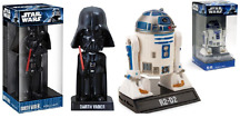 Funko Star Wars Car Bobble Head Darth Vader R2-D2 Collectable Movie Memorabilia