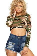 Womens Distressed Denim Shorts Ladies Ripped Pocket Hot Pants Button New
