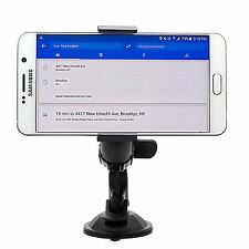 New 360°Car Holder Windshield Mount Bracket For HTC Huawei Mobile Cell Phone GPS