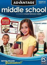 Encore Advantage Middle School 2012 Current Version PC Windows XP 7 8 10 MAC