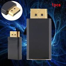 New Display Port DP Male To HDMI Female Adapter Converter Adaptor for HDTV WM