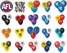 AFL Birthday Party Helium Quality Balloons 25 Pack! All Teams Available!