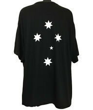 Southern Cross T-Shirt (Black), Double Sided Print NEW - Size 8XL or 11XL