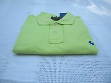 Polo Ralph Lauren Solid  CUSTOM FIT MESH *Lime Green* M  L XL