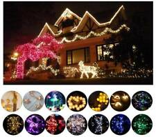 Fairy String Lights 2M-100M 10-100LED Battery Powered  Party Xmas Decor Flexible