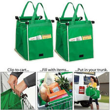 Creative Grab Bags Shopping Bag Reusable Eco Friendly Clips To Your Cart Bags