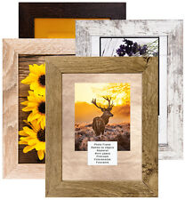 PICTURE PHOTO FRAME POSTERS FRAMES WOOD WOODEN EFFECT MODERN OAK CHOCOLATE A4