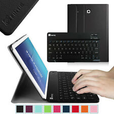 Bluetooth Keyboard PU Leather Stand Cover Case for Samsung Galaxy Tab Tablet
