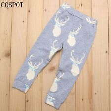 0-24Months Baby Boys Christmas Pants Boy's Autumn Spring Cotton Trousers