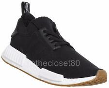 Adidas NMD R1 PK PrimeKnit Black White Gum Mens Womens Trainers BY1887