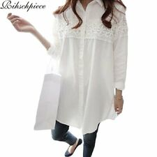 Rihschpiece White Lace Blouse Plus Size 5XL Women Tops and Blouses Vintage