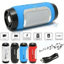 Bluetooth Wireless Portable Mini Stereo Speaker MP3 FM For Smartphone Tablet PC