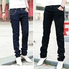 Men Casual Jeans Pencil Pants Stylish Designed Straight Slim Fit Trousers 6475 -