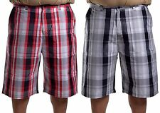 Southpole Collection Men's Big & Tall Casual Basic Plaid Shorts Choose Size
