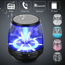 Portable Mini Bluetooth Speaker Wireless Rechargeable Bass For Smartphone Tablet