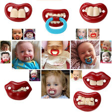 Hot Baby Funny Dummy Pacifier Soother Baby Toddler Joke Prank Pacifier Baby Care