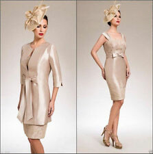 Women's Wedding Formal Occasion Suits Outfit Jacket Mother of the Bride Dress