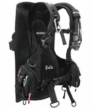 OCEANIC BIOLITE LADIES TRAVEL BC/BCD ULTRA LIGHTWEIGHT WEIGHT INTEGRATED BUOYANC